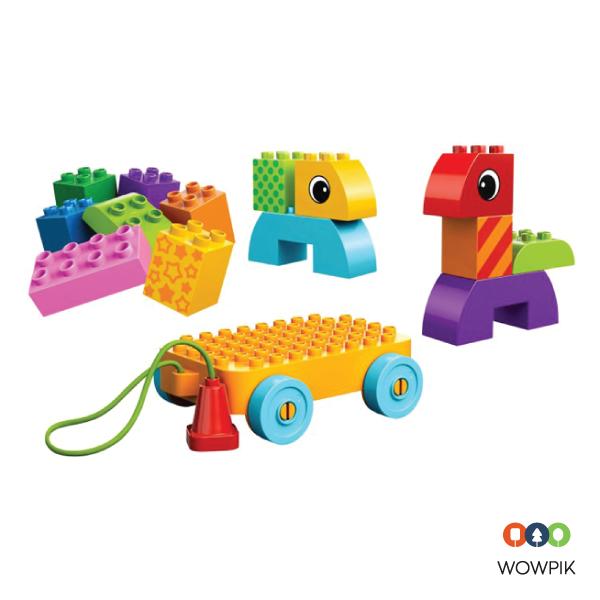 Lắp ráp xe kéo Lego